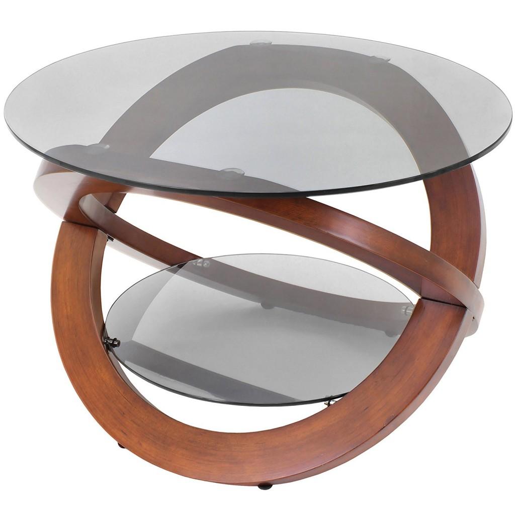 Mid Century Modern Glass Coffee Table