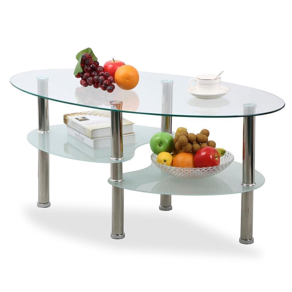 Modern Oval Coffee Table