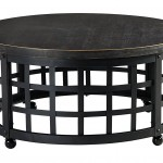 Round Iron Coffee Table