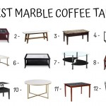 12 Best Marble Coffee Tables