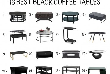 16 Best Black Coffee Tables