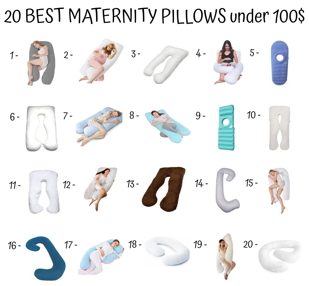 20 Best Maternity Pillows Under 100$