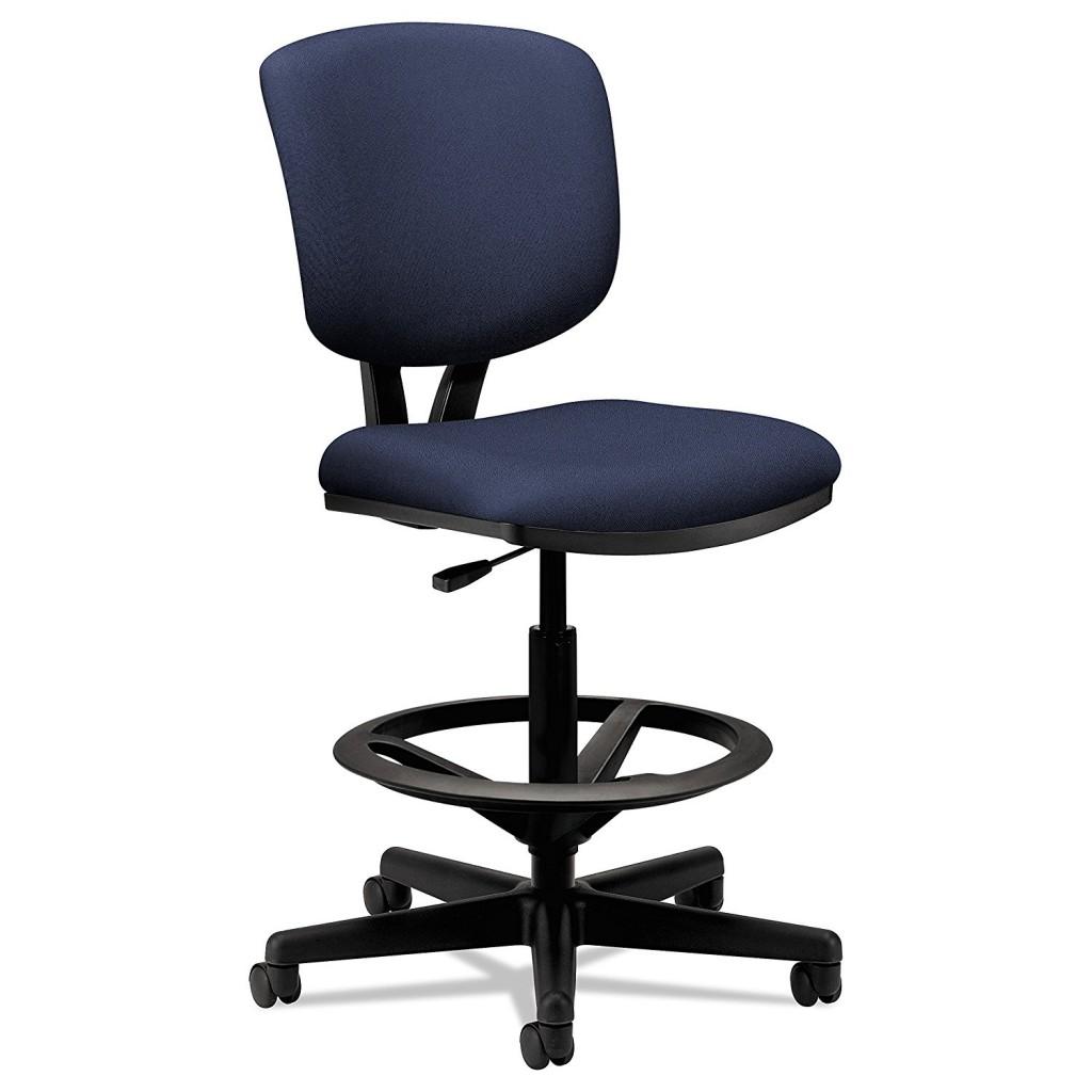Hon Volt Task Stool Upholstered Office Stool