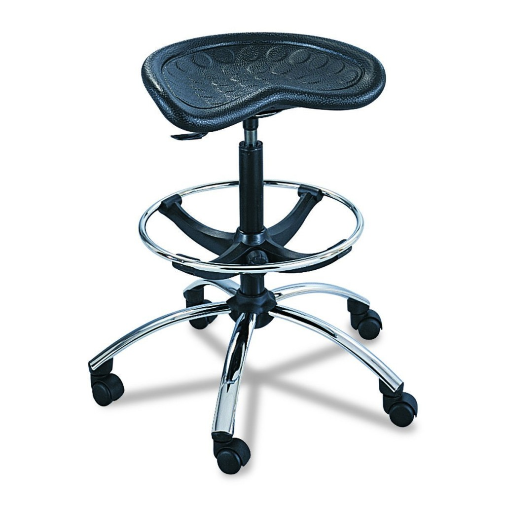 Safco Products 6660BL SitStar Stool Chrome Base