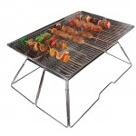 Yodo Large Portable Folding Tailgate Grill Charcoal Grill