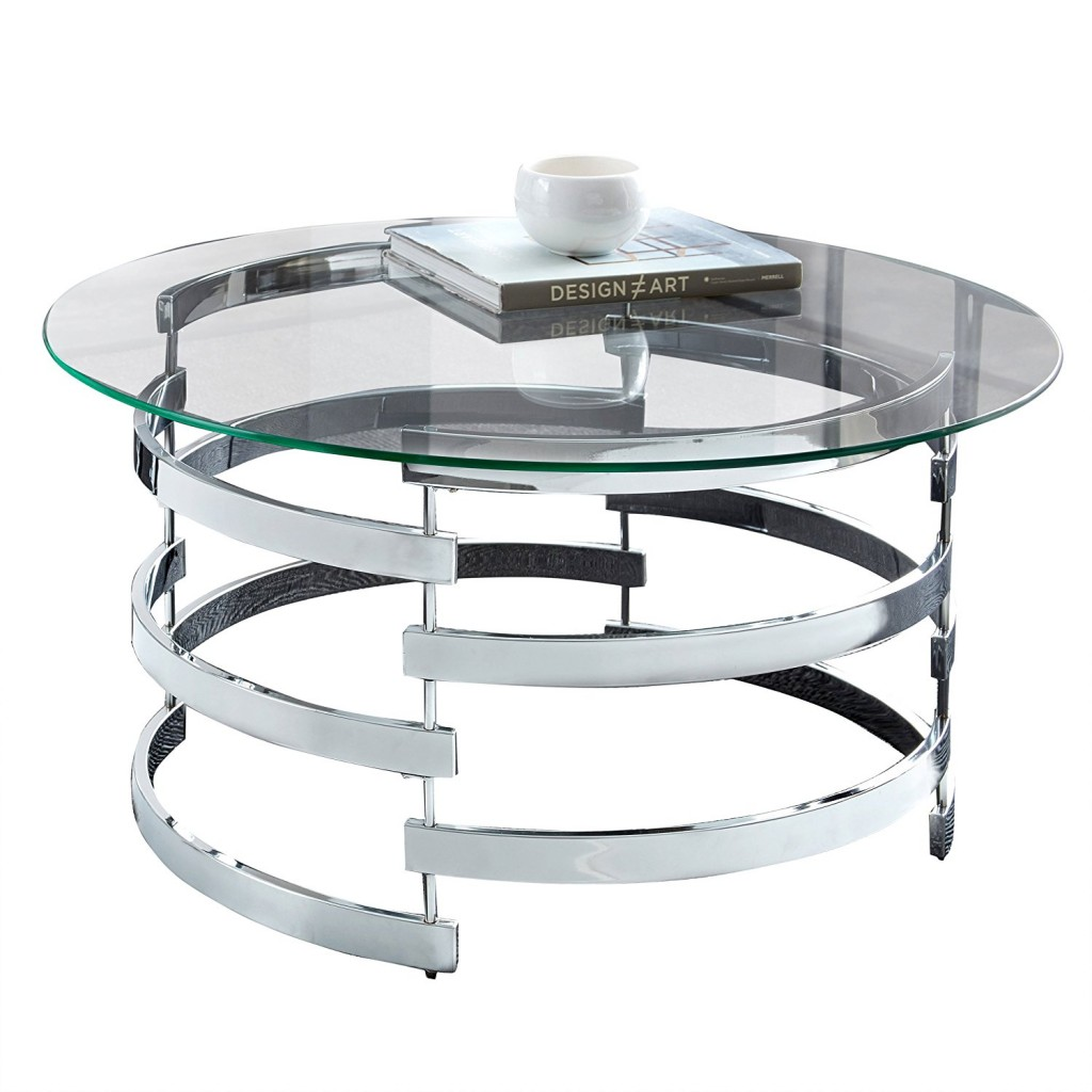 Contemporary Round Coffee Table