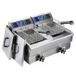 Double Basket Deep Fryer