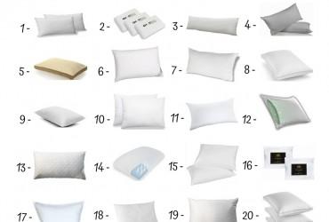 20 Best Bed Pillows Under 500$