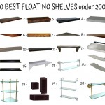 20 Best Floating Shelves Under 200$