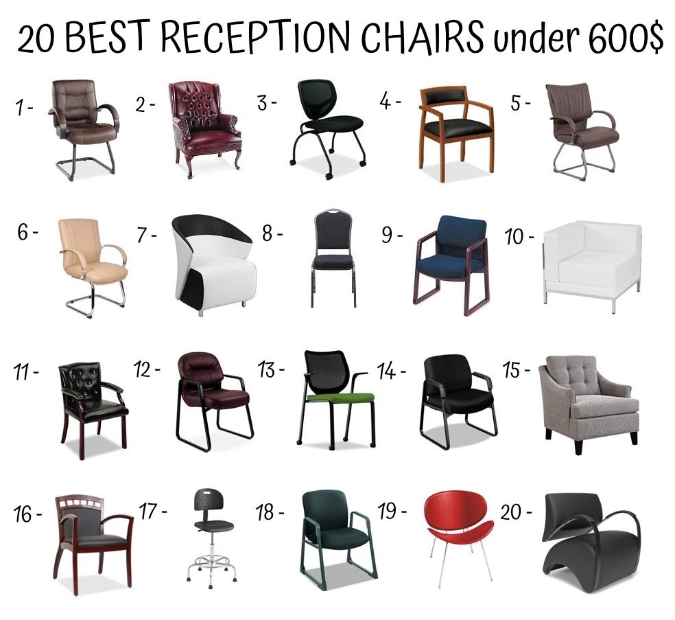 20 Best Reception Chairs Under 600$