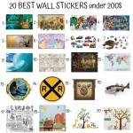 20 Best Wall Stickers Under 200$