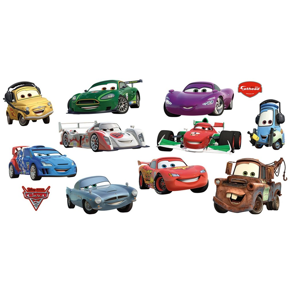 Disney Pixar Cars 2 Collection Wall Graphic