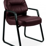 HON H2093.SR69.T Pillow Soft Leather Guest Chair