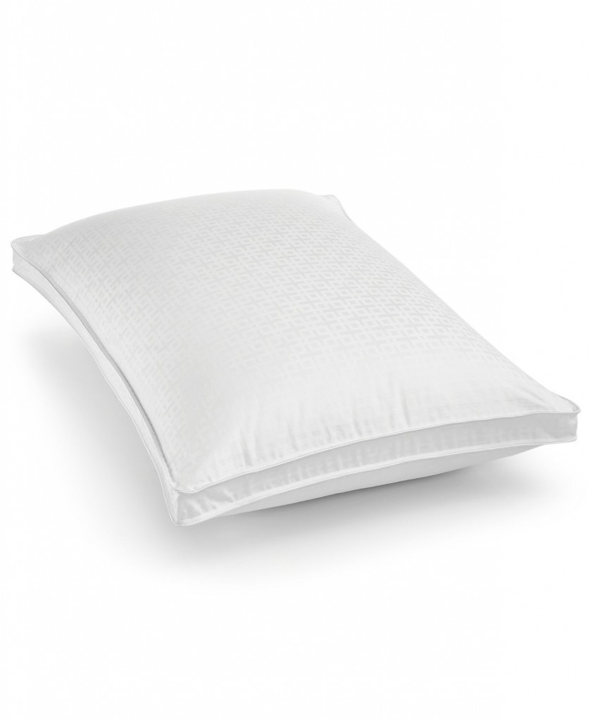 Hotel Collection European White Goose Down Firm King Pillow