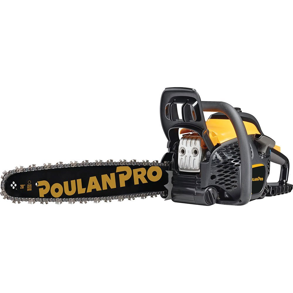 Poulan Pro 967061501 50cc 2 Stroke Gas Powered Chain Saw