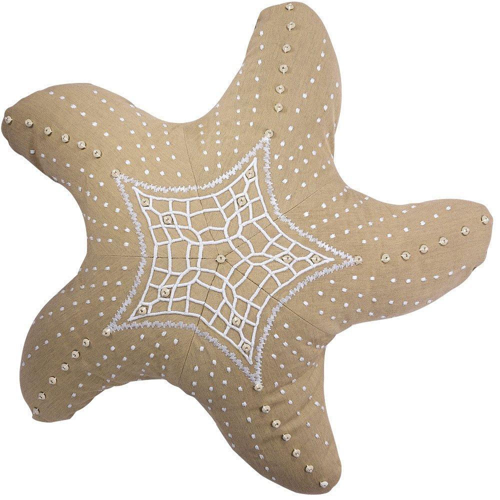 Rightside Design P0940HB Outdoor Starfish Heather Pillow