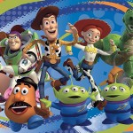 RoomMates JL1204M Toy Story 3 Prepasted Chair Rail Wall Mural