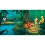 RoomMates JL1253M Disney Lion King Chair Rail Prepasted Mural