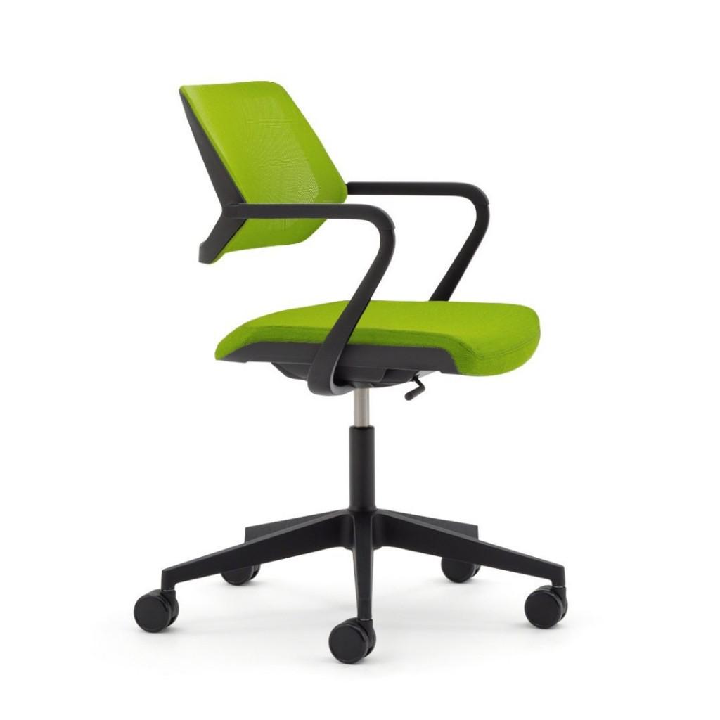 Steelcase QiVi Chair, Wasabi Fabric