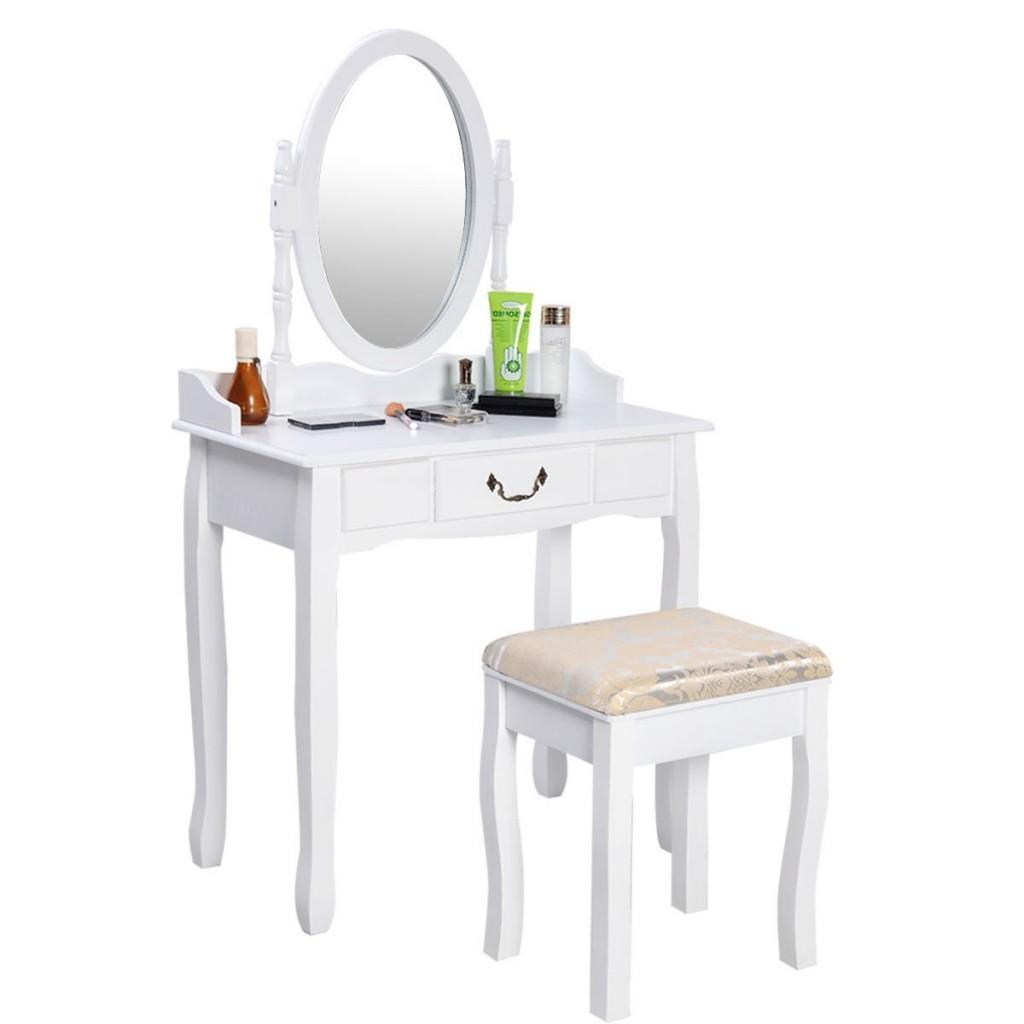 Bathroom Vanity With Makeup Table