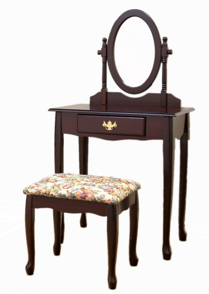 Corner Vanity Table