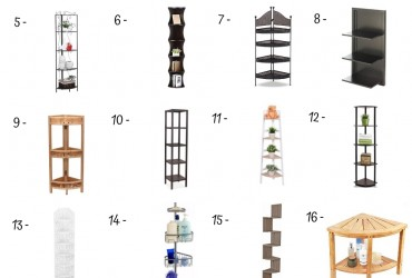 20 Best Corner Shelves Under 50$