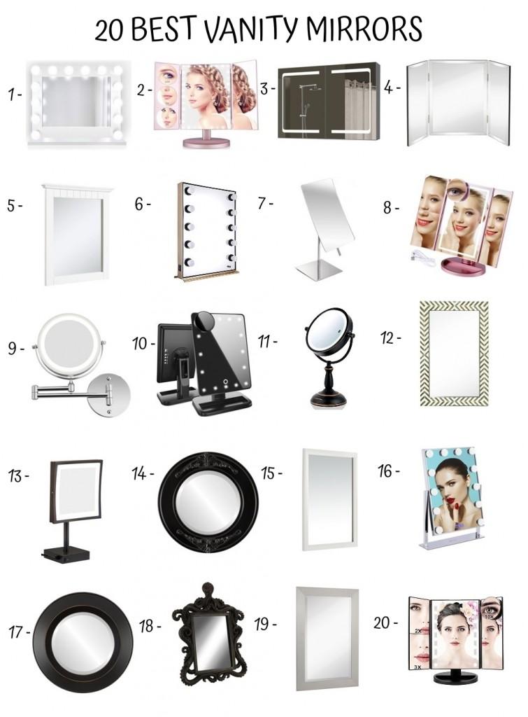20 Best Vanity Mirrors