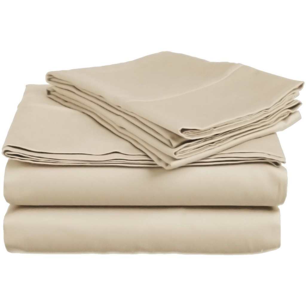 600 Thread Count Genuine Extra Long Staple (ELS) Premium Combed Cotton Bed Sheet Set