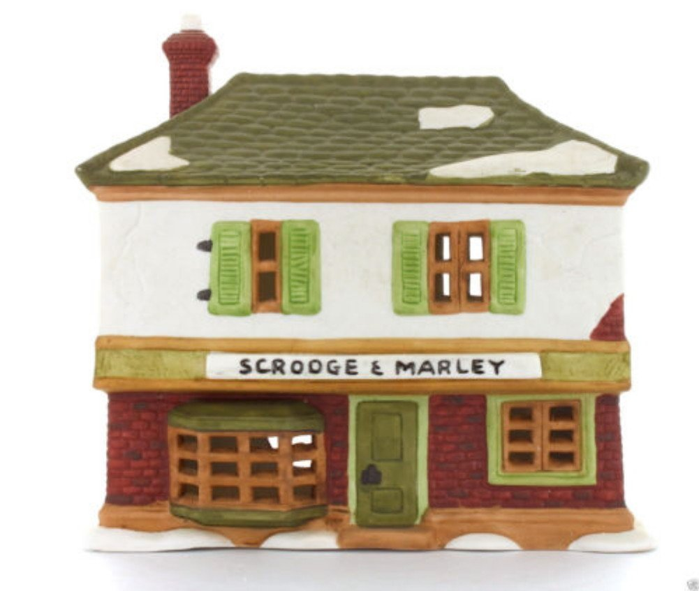 Department 56 Scrooge & Marley Counting House Dickens Village