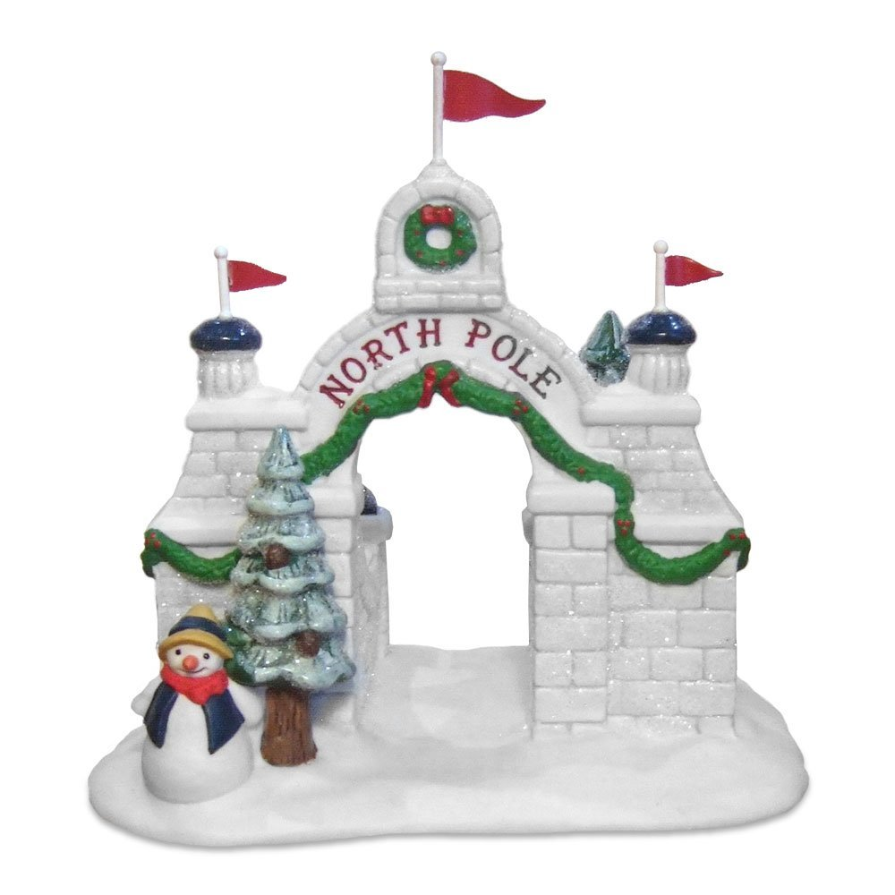 Dept 56 North Pole Collection North Pole Gate