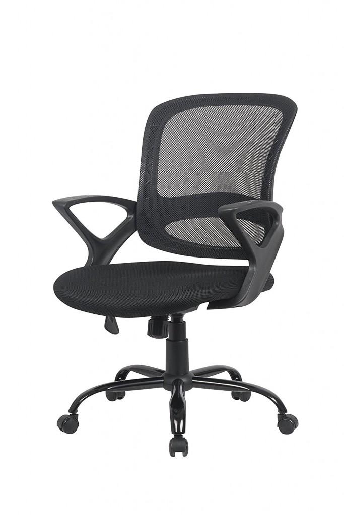 Ergonomic Mesh Computer Office Desk Midback Task Chair