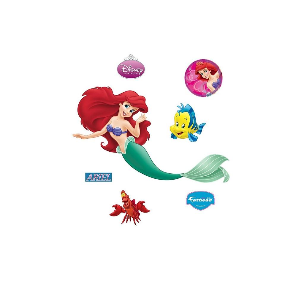 Fathead Disney Princesses Ariel Wall Decal