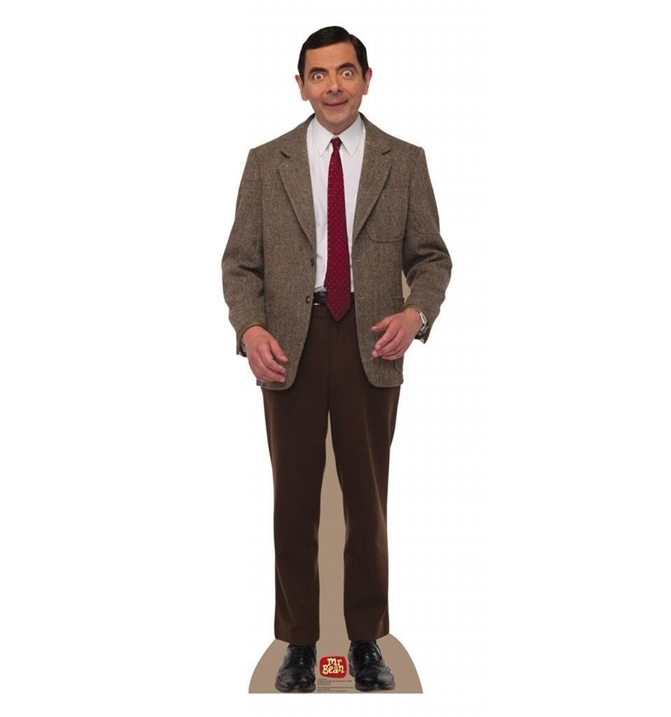 Mr. Bean Advanced Graphics Life Size Cardboard Standup