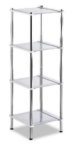 Organize It All Contas 4 Tier Shelf