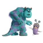 Roommates Rmk2012Slm Monsters Giant Sully And Boo Peel And Stick Wall Decals