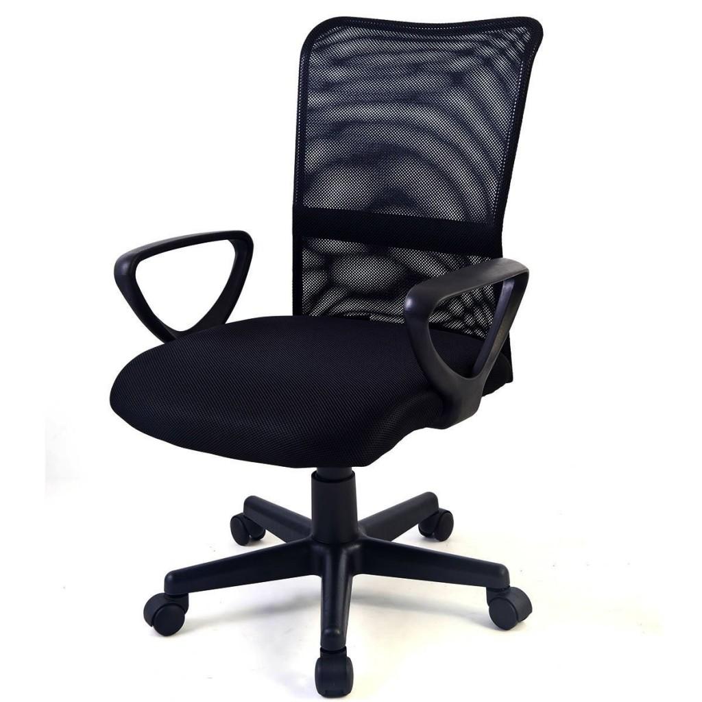 Tangkula Mid Back Adjustable Ergonomic Mesh Office Chair
